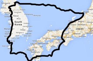 España y Corea-Japón